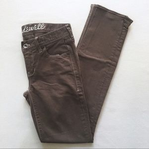 Madewell Rail Straight Jeans brown Size 26